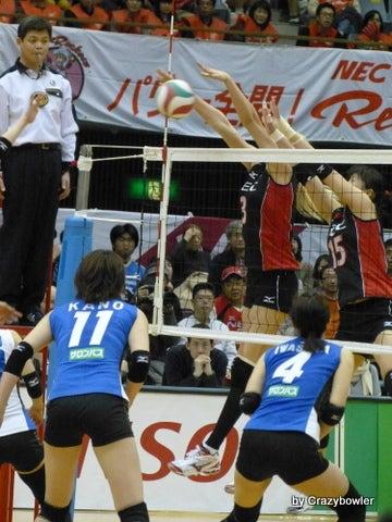 $生涯学習!by Crazybowler-Vプレミアリーグ2012/13女子 NECvs久光(川崎)