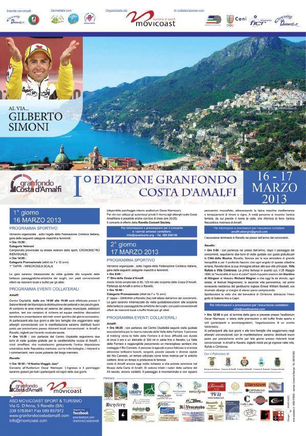 【彼女の恋した南イタリア】 - diario  イタリアリゾート最新情報    -第一回グランフォンド・コスタダマルフィ