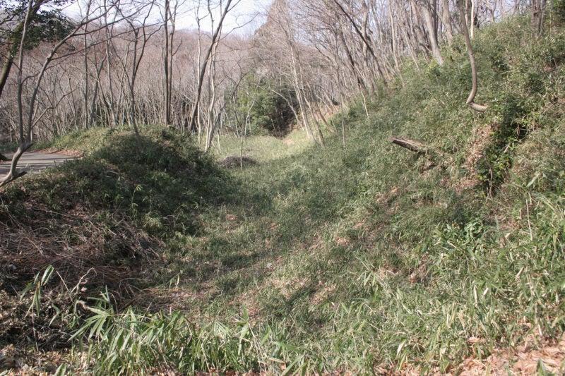 滝山城/千畳敷の堀切