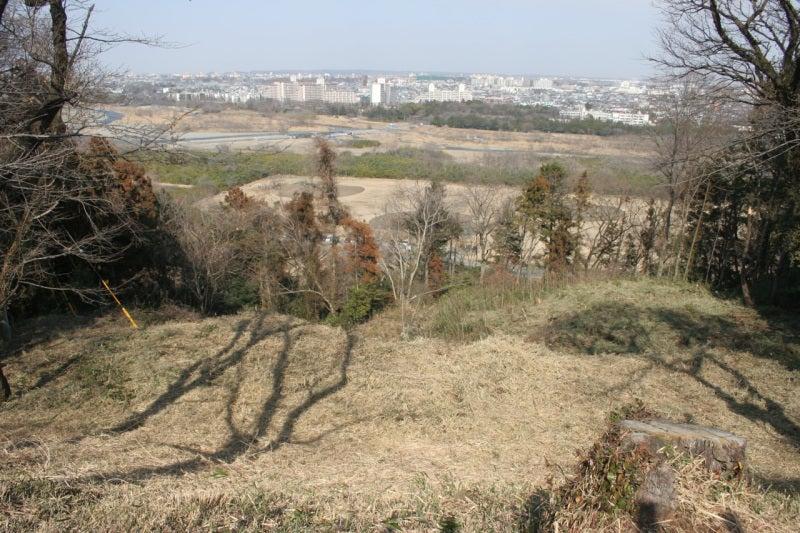 滝山城/中の丸からの眺め