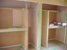 甘棠のブログ-子どもたちの部屋のクローゼット
