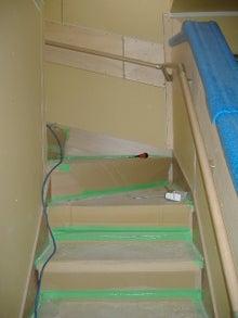 甘棠のブログ-階段に手すり
