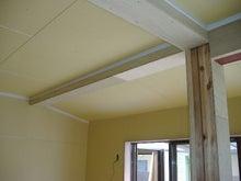甘棠のブログ-リビング側の天井