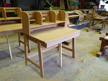 自然素材のオーダー家具 MUKUスタイルのブログ-愛媛県 アッシュ しおじ 無垢学習机
