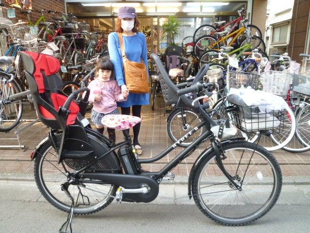 自転車の 3人乗り自転車 チャイルドシート カバー : ハイディビー 3人乗り ...