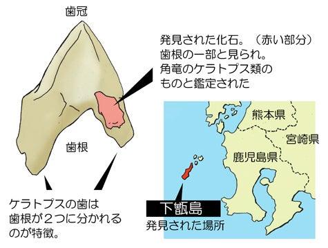 川崎悟司 オフィシャルブログ 古世界の住人 Powered by Ameba-国内で発見されたケラトプス類の化石