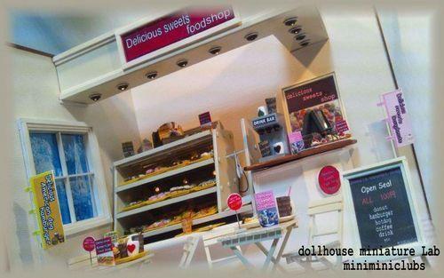 ★ハンドメイド 手作り ドールハウスミニチュア研究所  ミニチュアフード スイーツ スイーツデコ 製作 dollhouse miniature Lab