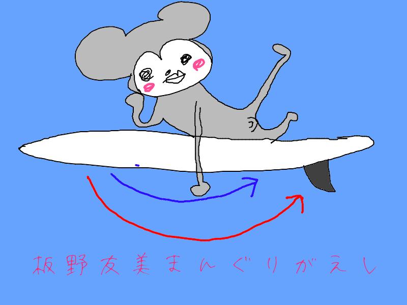 サーフィンバドリング