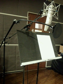 $sorakumuriのブログ-ボーカルレコーディング