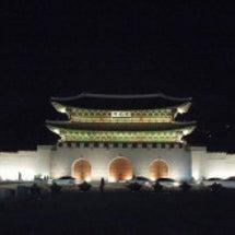夜の光化門広場