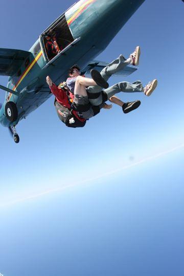 $ゆるゆる日記-スカイダイビング、実感