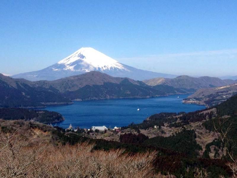 土肥城/大観山から富士山