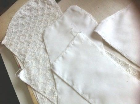 手作りウエディングドレス:ビスチェ作りに入りました☆|繭香のブログ 手芸のレシピづくり
