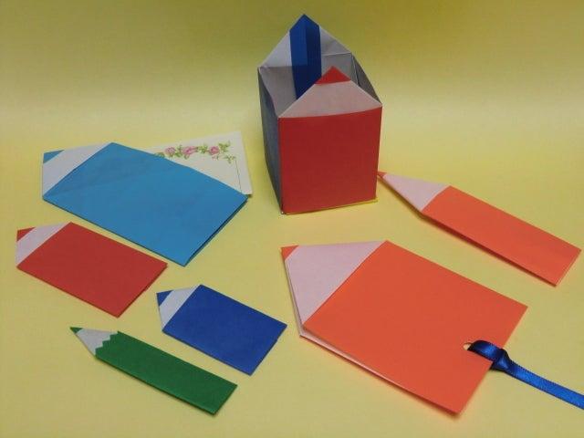 ハート 折り紙:折り紙 えんぴつ-ameblo.jp