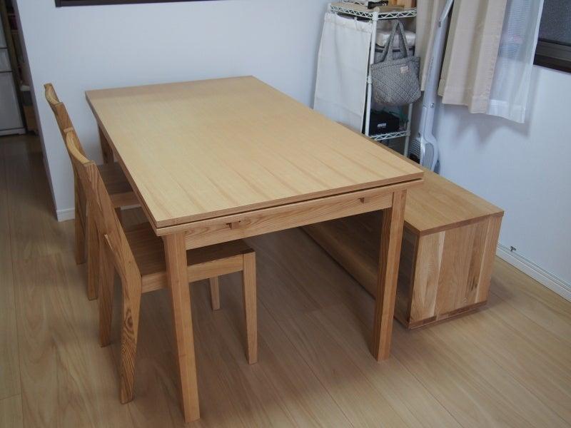 ムジルシリョウヒン(MUJI (無印良品))のunico ダイニングテーブルセット