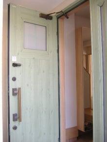 甘棠のブログ-玄関外側
