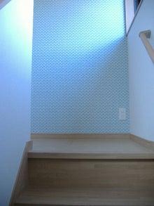 甘棠のブログ-階段上って