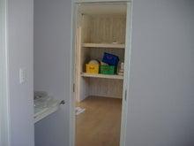 甘棠のブログ-洗面脱衣室から家事室