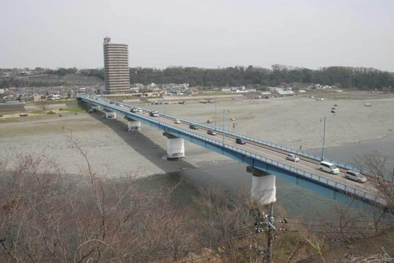 小沢古城/高田橋