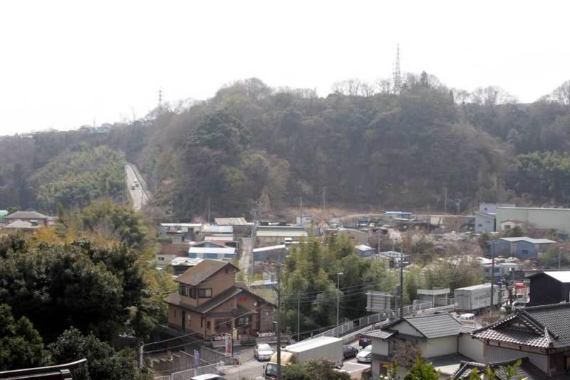 小沢古城/すぐ南にある小沢城
