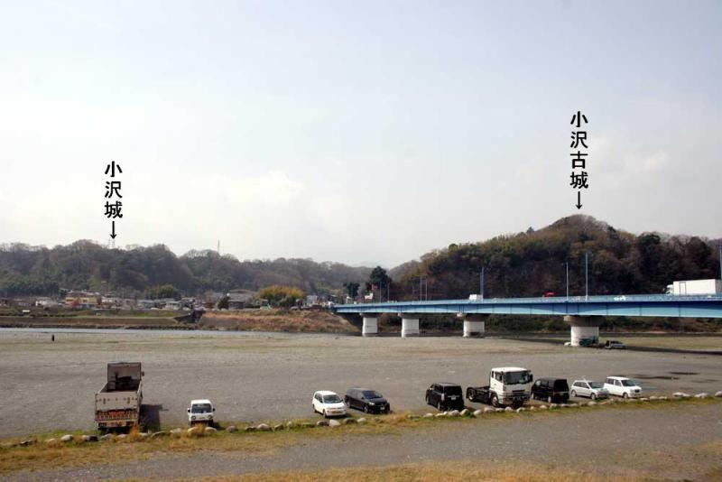 小沢城/遠景