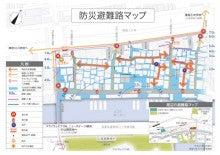 浦島町まちづくりのブログ-防災避難路マップ
