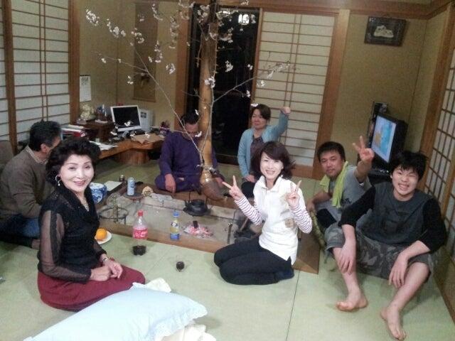 歩き人ふみの徒歩世界旅行 日本・台湾編-部屋花見