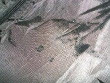 たか坊のブログ-ポリ撥水生地の濡れ性
