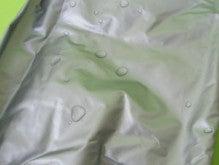 たか坊のブログ-防水ナイロン生地の濡れ性