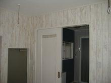 甘棠のブログ-家事室の奥は洗面脱衣室
