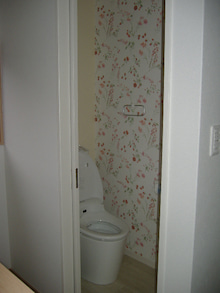 甘棠のブログ-2階のトイレもアラウーノ