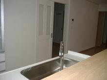 甘棠のブログ-キッチンの裏の家事室