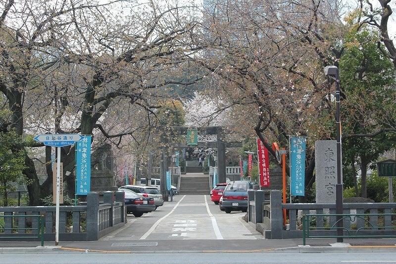 特選街情報 NX-Station Blog-芝東照宮の八重桜が開花