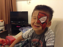 $アメリカンライフyukes in Manila-タイロスパイダーマン