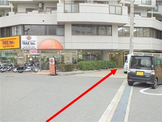吉川産業ビルオートバイ