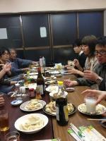 ケイ語学教室のブログ-餃>食べる