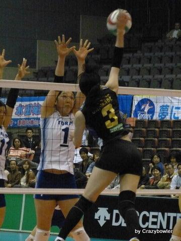 $生涯学習!by Crazybowler-Vプレミアリーグ女子2012/13 セミF 東レvs久光