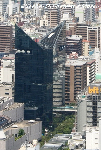 山陰百貨店―山陰ぐらし☆右往左往―-茶屋町ビル群 2008.06.13