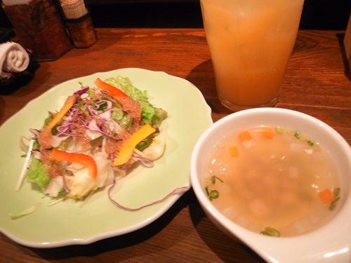 $国内航空券【チケットカフェ】社長のあれこれ-サラダ&スープ