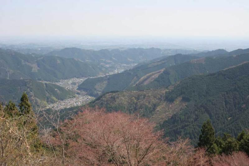 御岳城/御岳山駅からの眺め