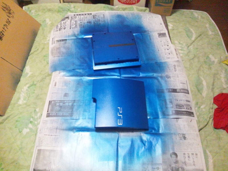 直猫のAMDな生活-PS3 塗装