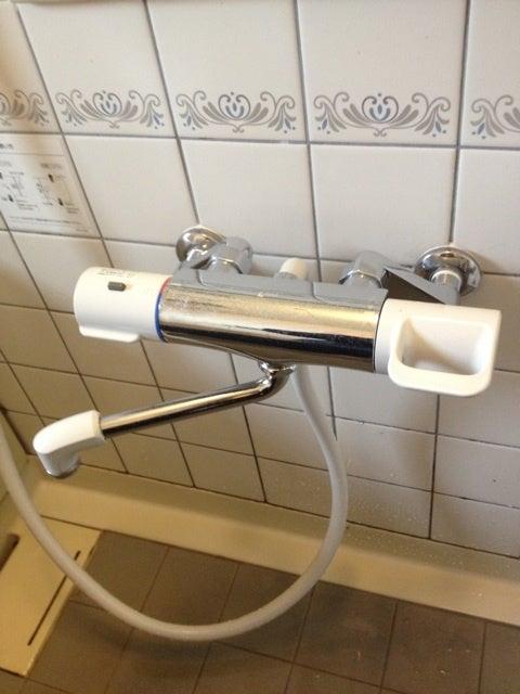 お風呂のシャワー水栓交換 ...