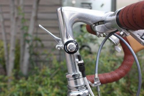 自転車の 上野 自転車 ハクセン : パーツにはブルックスパーツを ...