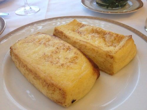 むーさんブログ-ホテルオークラフレンチトースト