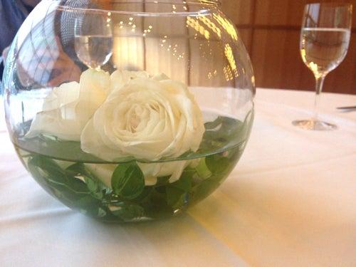 むーさんブログ-お花も活けてある