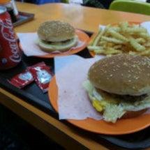 香港初ハンバーガー時…