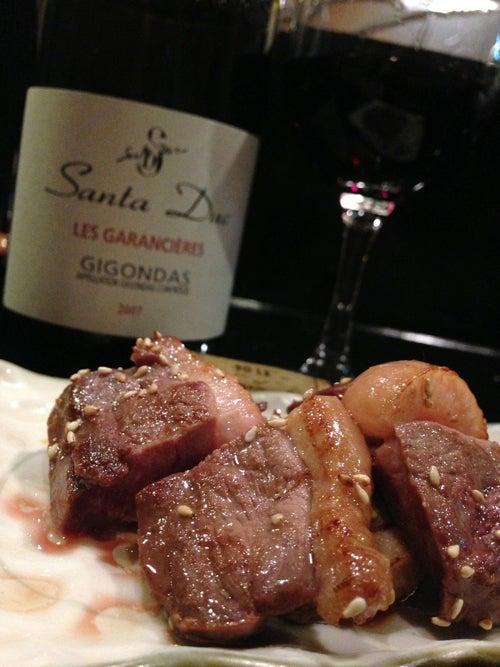 グルマンTaharaのワイン日記。-サンタデュックのジゴンダス