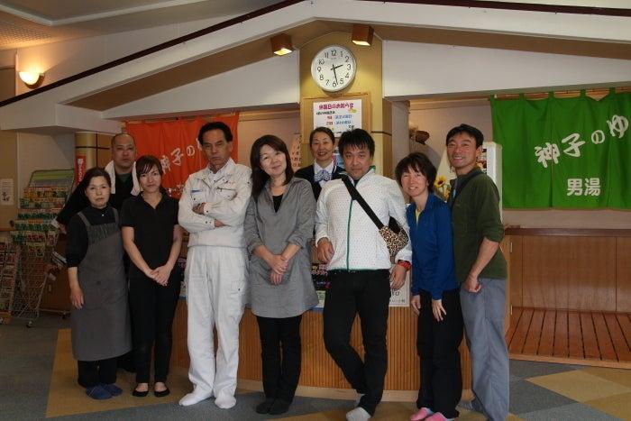 歩き人ふみの徒歩世界旅行 日本・台湾編-あびーる館で