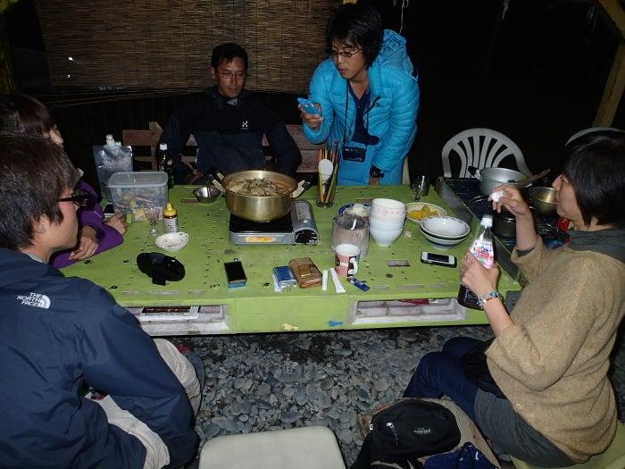 $歩き人ふみの徒歩世界旅行 日本・台湾編-ライダーハウスの夜