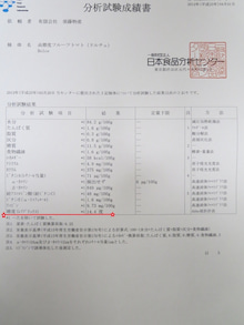 須藤物産トマト屋さんのブログ-須藤物産日本食品分析センター